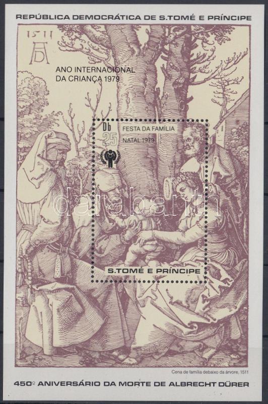Christas: Dürer block, Karácsony: Dürer blokk