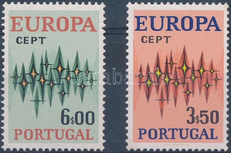 Europa CEPT stamp from 1 set, Europa CEPT bélyegek 1 sorból (a legkisebb érték hiányzik)