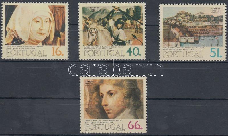 Stamp Exhibition: Paintings set, Bélyegkiállítás: Festmények sor