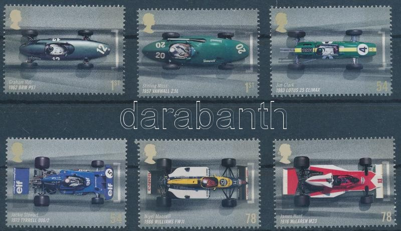 50th anniversary of British Formula 1 Grand Prix set, 50 éves az angol Forma 1 nagydíj sor