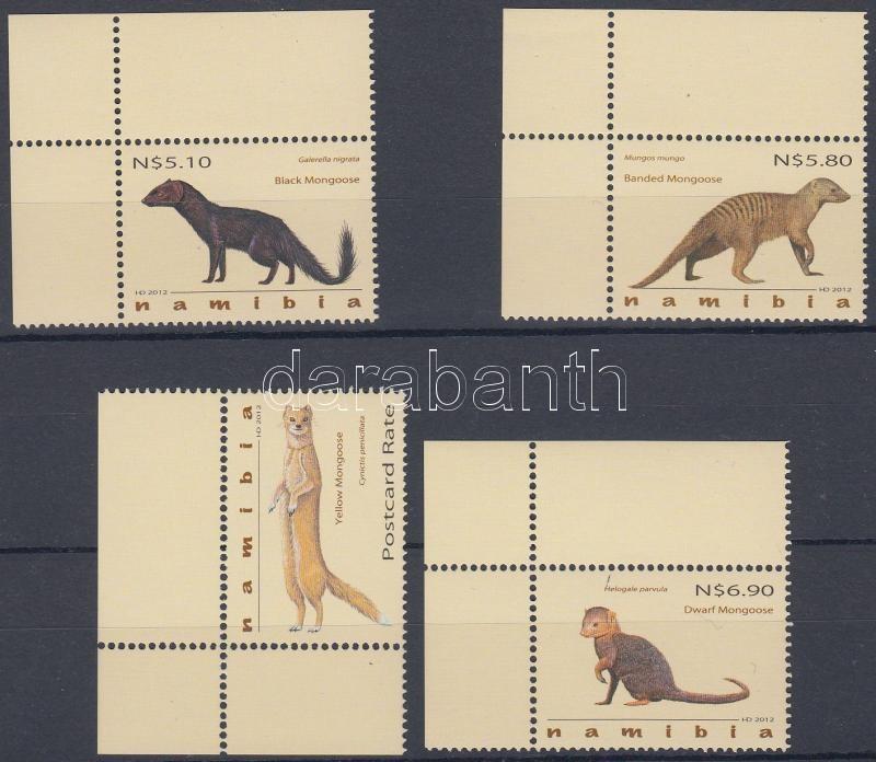 Mongooses corner set, Mongúzok ívsarki sor