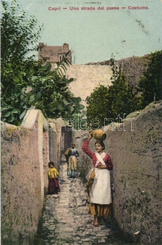 Capri, street