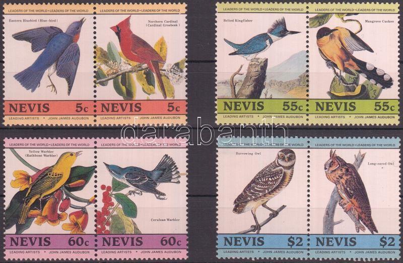 Birds 4 values, Madarak 4 pár