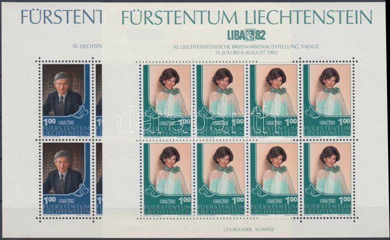National Stamp Exhibition mini sheet set, Nemzeti Bélyegkiállítás kisív sor