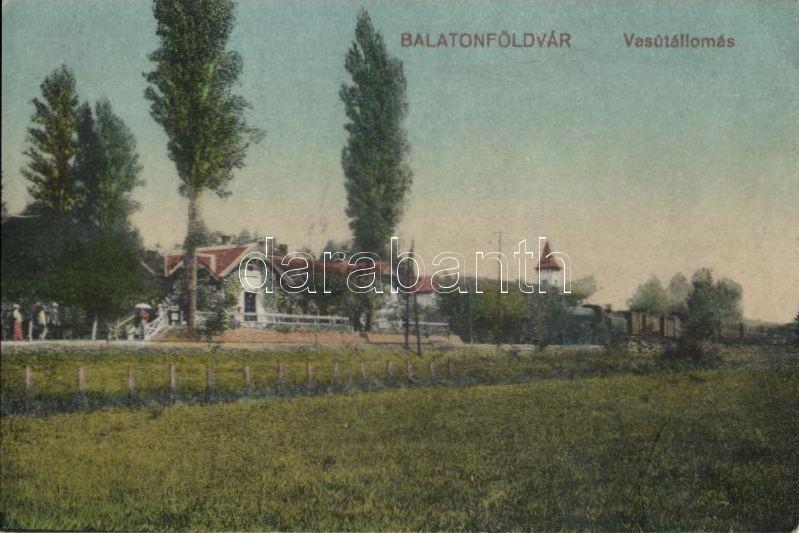 Balatonföldvár, vasútállomás