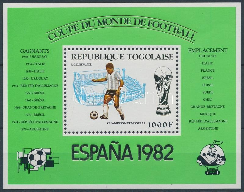 Football World Cup 1982 block, Labdarúgó VB 1982 blokk
