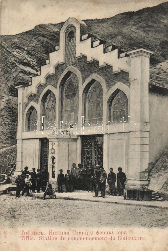 Tbilisi, Tiflis; funicular station