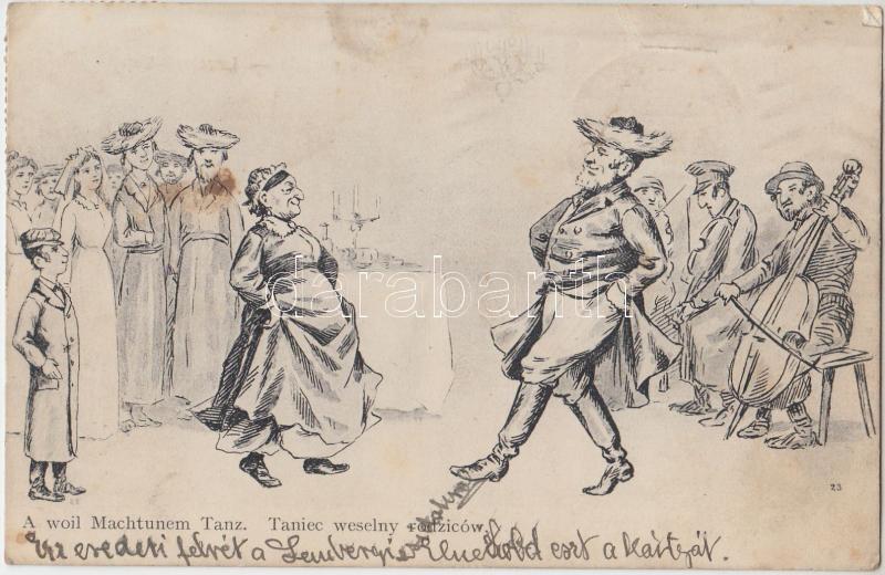 A woil Machtunem Tanz / Judaica, Jewish wedding dance, Judaika, zsidó esküvői tánc