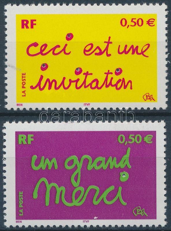 Greeting Stamps set, Üdvözlő bélyegek sor