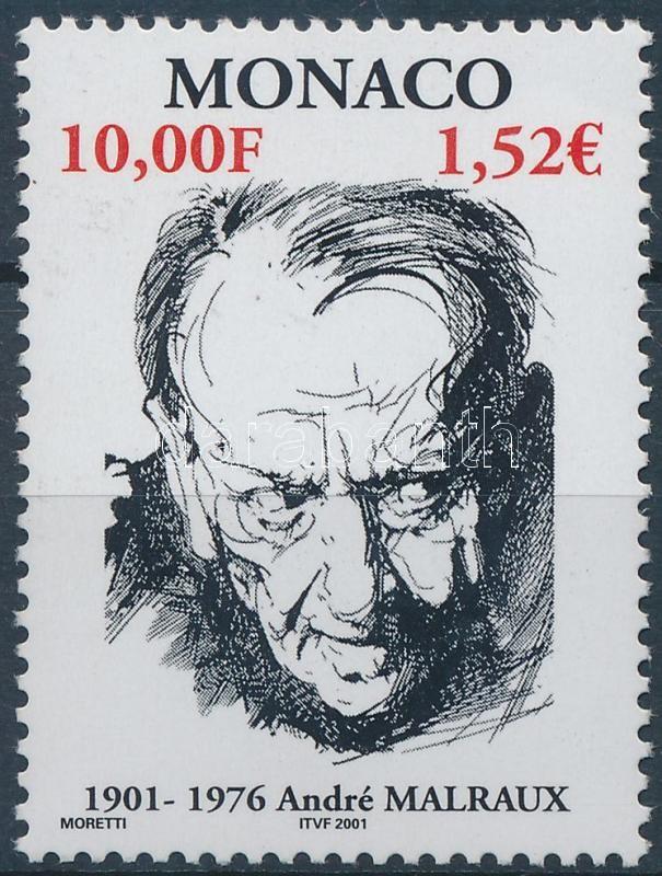 André Malraux, writer and politician, André Malraux író-politikus