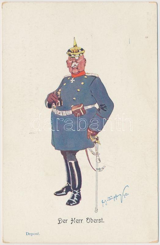 Oberst / K.u.K. military officer, B.K.W.I. 749-4 s: Schönpflug, K.u.K. ezredes, B.K.W.I. 749-4 s: Schönpflug