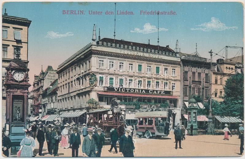 Berlin, Friedrischstrasse, Victoria cafe