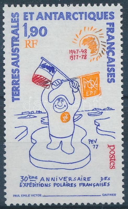 30th anniversary of the French polar expedition, A francia sarki expedíció 30. évfordulója
