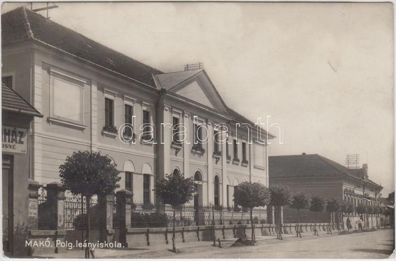 Makó, Polgári leányiskola