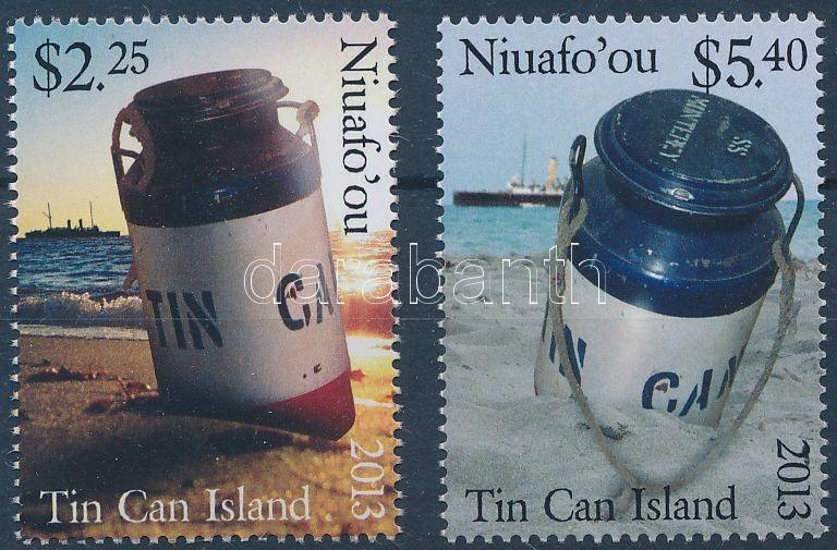 Tin Can Island set, 2 values, Tin Can sziget sor, 2 érték