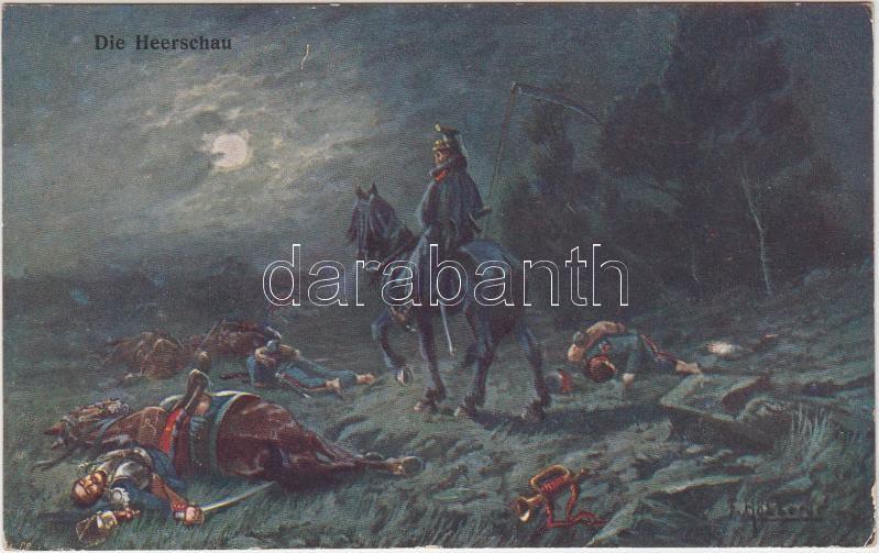 Battlefield s: Höllerer, Csata után s: Höllerer, Die Heerschau s: Höllerer