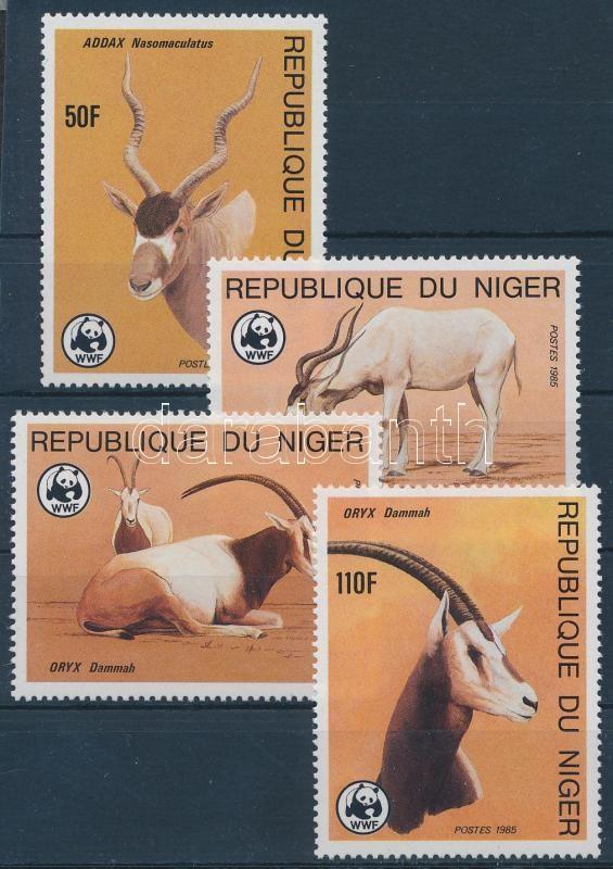 WWF Antelopes set, WWF Antilopok sor