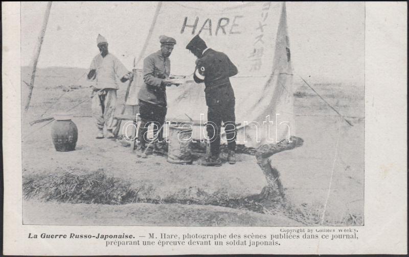 Russo-Japanese war, M. Hare war corresdpondent, Orosz Japán háború