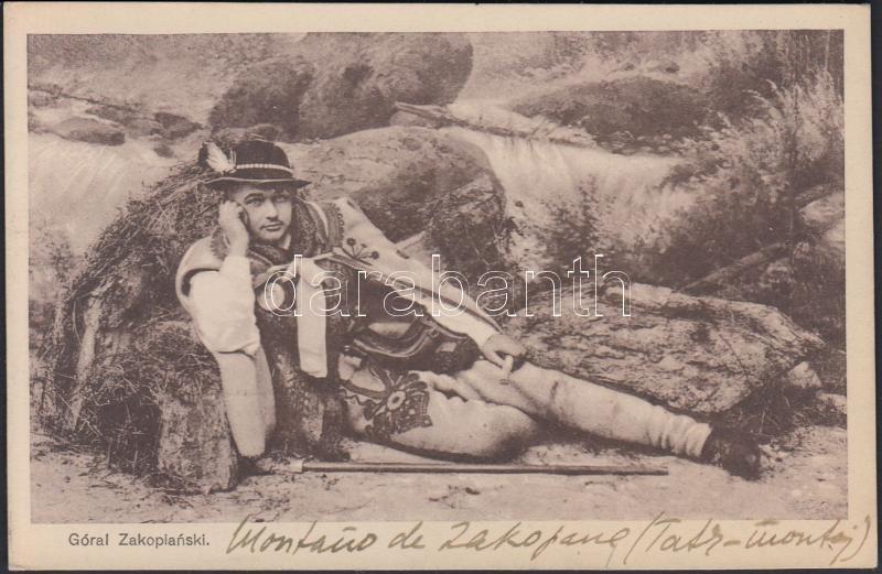 Góral Zakopianski / Polish folklore from Zakopane, highlander, Lengyel folklór