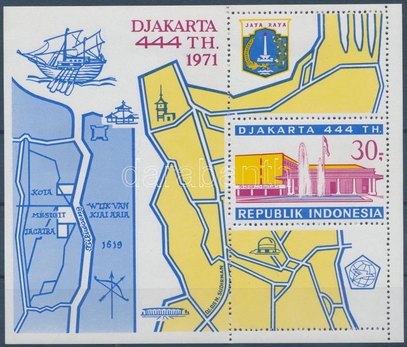 444th anniversary of Jakarta block, 444 éves Jakarta városa blokk