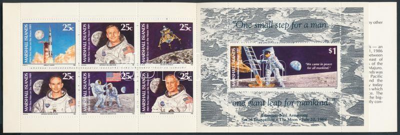 First man in the Moon stamp-booklet, Első ember a Holdon bélyegfüzet