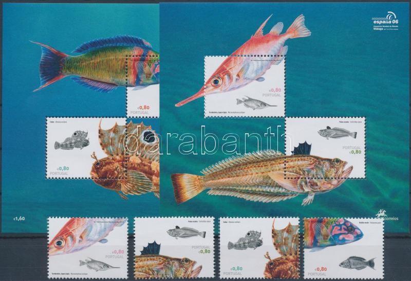 Fishes + block set, Halak + blokksor