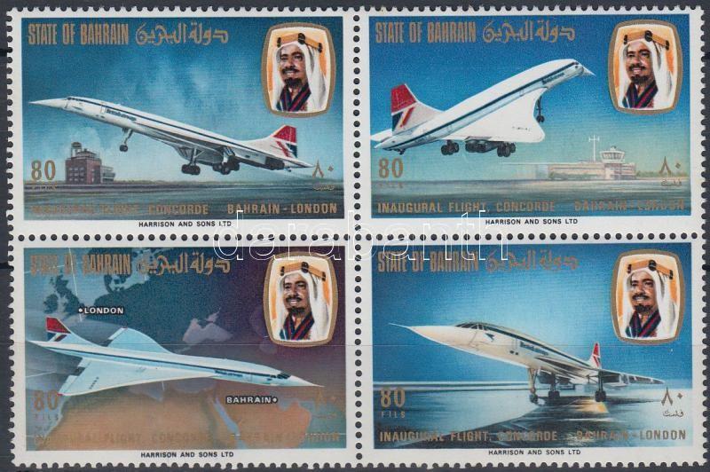 Concorde block of 4, Concorde négyestömb