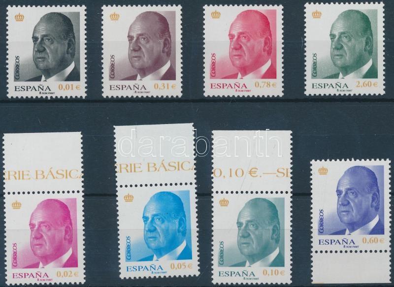 Juan Carlos I. set, I. Juan Carlos sor