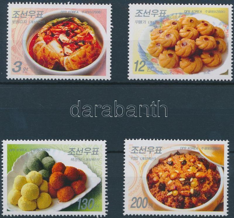 Tradicionális ételek sor, Traditional food set