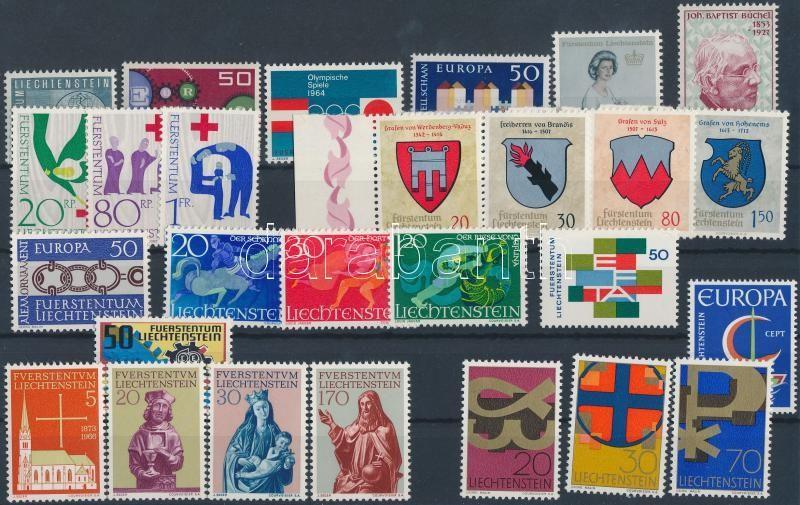 27 diff. stamps with sets, 27 klf bélyeg, benne sorok