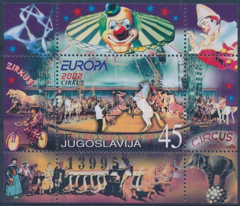 Europe CEPT Circus block, Europa CEPT cirkusz blokk