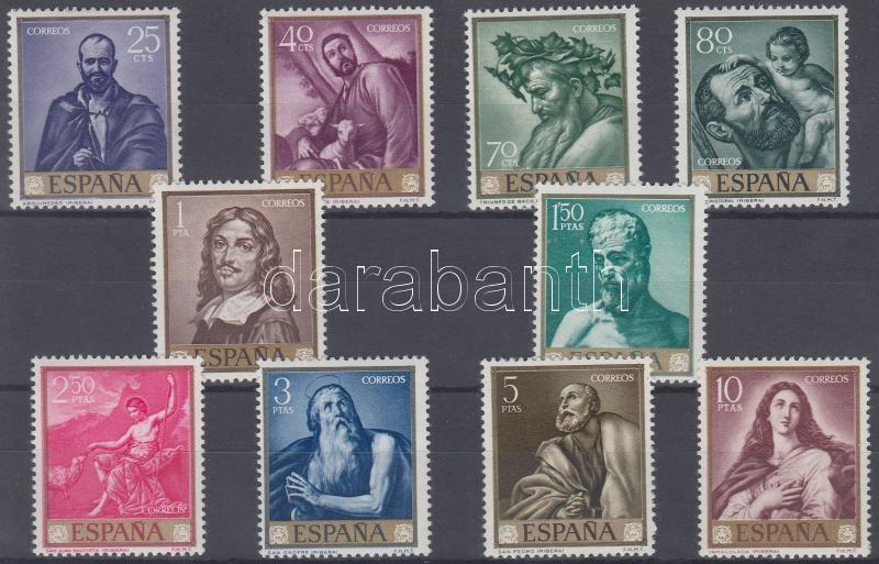 Ribera paintings set, Ribera festmények sor