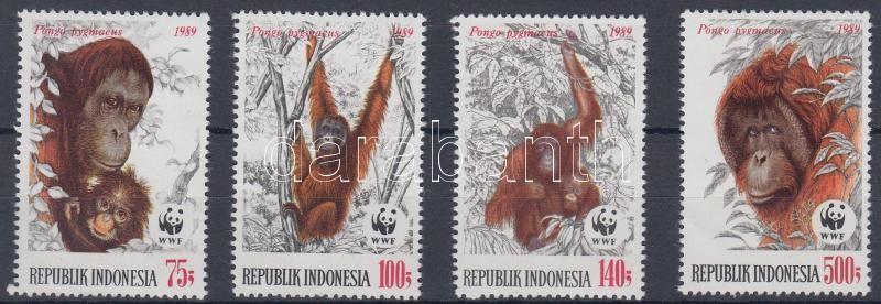 WWF Orangutans set, WWF Orángután sor