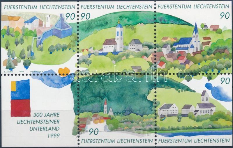 300th anniversary of Liechtenstein block, 300 éves Liechtenstein blokk