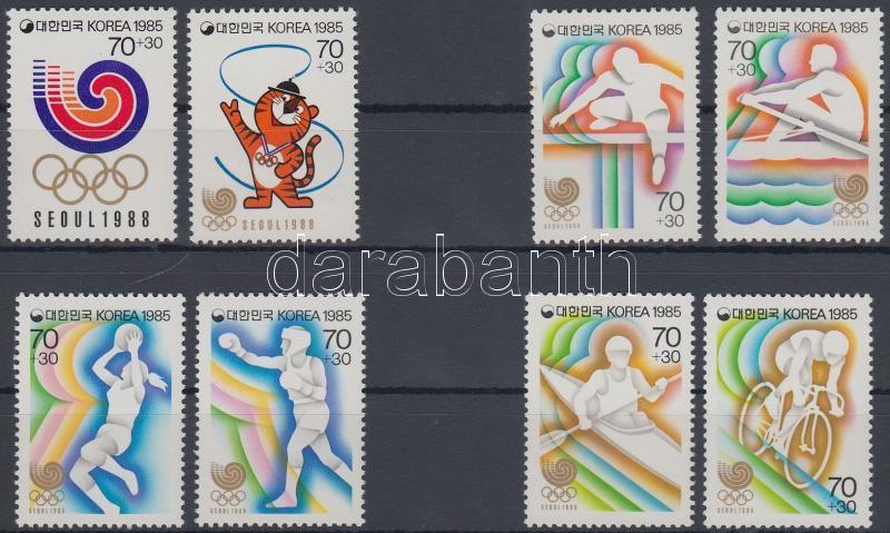 Summer Olympics 1988, Seoul 4 diff. sets, Nyári olimpia 1988, Szöul 4 klf sor