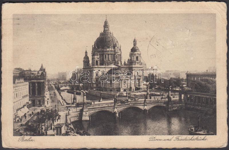 Berlin, Dom, Friedrichsbrücke / cathedral, bridge