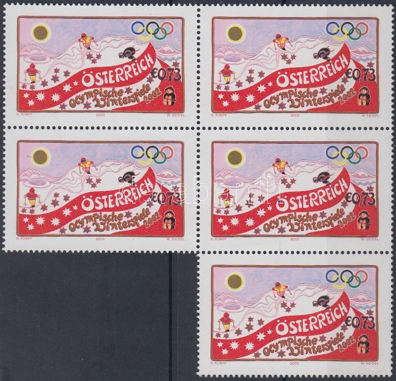 Winter Olympics block of 5, Téli olimpia ötöstömb