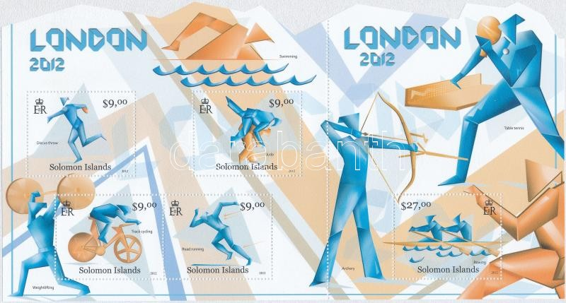 London Olympics minisheet, Olimpia London kisív