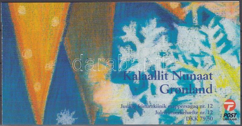 Christmas stampbooklet with selfadhesive stamps, Karácsony bélyegfüzet öntapadós bélyegekkel