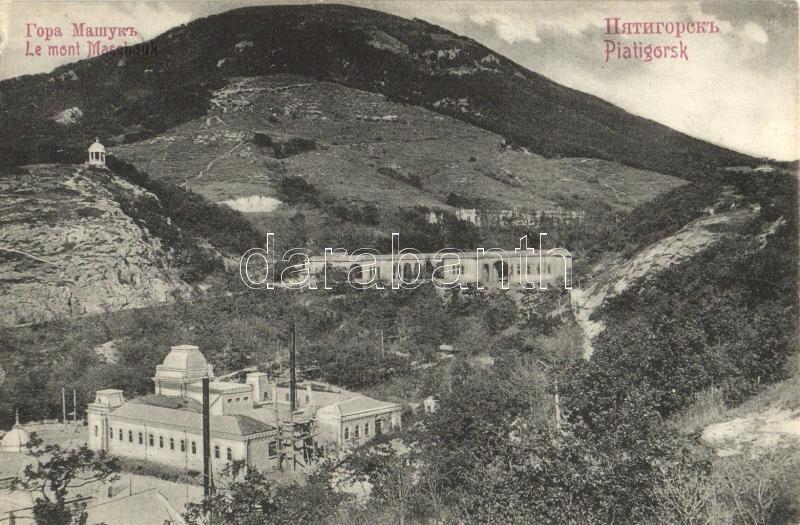 Pyatigorsk, Piatigorsk; Gora Mashuk / Mashuk mountain