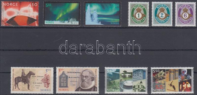 10 stamps, 10 db bélyeg