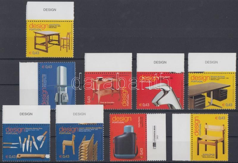 Design margin set, Dizájn ívszéli sor