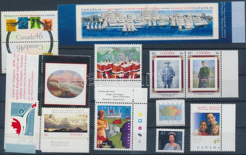 13 dif. stamps with 3 pairs, 13 klf bélyeg, benne 3 pár