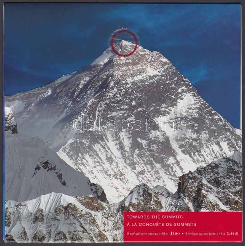 A Hegységek éve fólia blokk díszcsomagolásban, The year of Mountains foile block in decorative holder