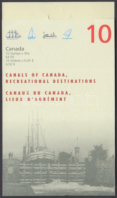 Waterways stamp-booklet, Vízi utak bélyegfüzet