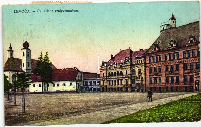 Levoca, Grammar School, Filip Braun, Lőcse, Reálgimnázium
