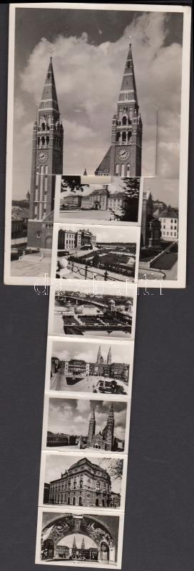 Szeged leporellocard