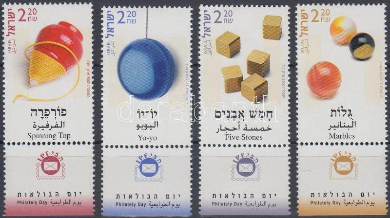 Stamp Day set with tab, Bélyegnap tabos sor