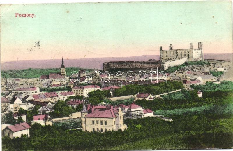 Bratislava, Pozsony, kiadja Divald Károly