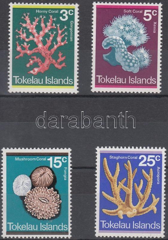 Corals set, Korallok sor